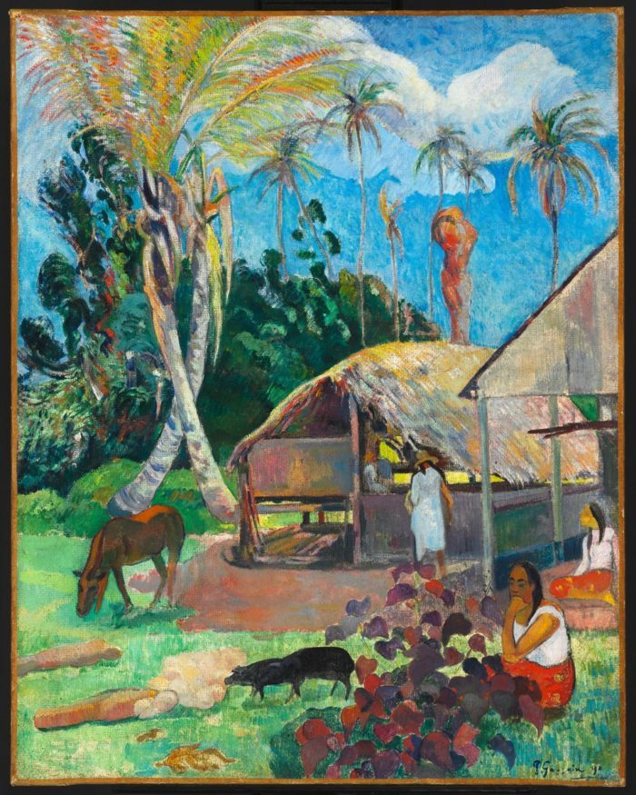 Paul Gauguin: Black Pigs – THE PIG