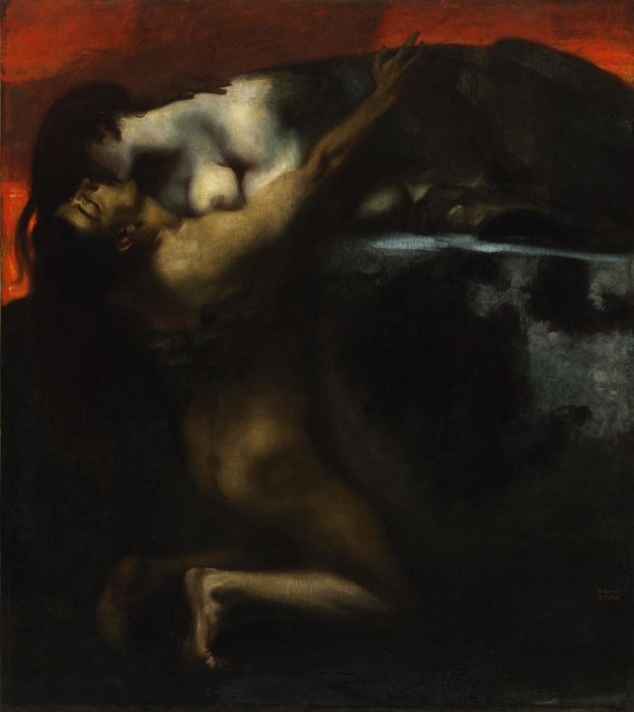 Franz von Stuck: The Kiss of the Sphinx