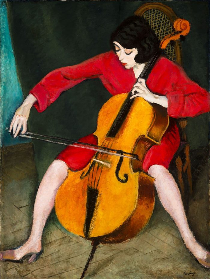 Róbert Berény: Woman Playing the Cello