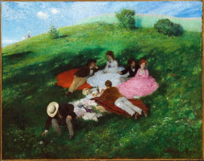 Pál Szinyei Merse: Picnic in May