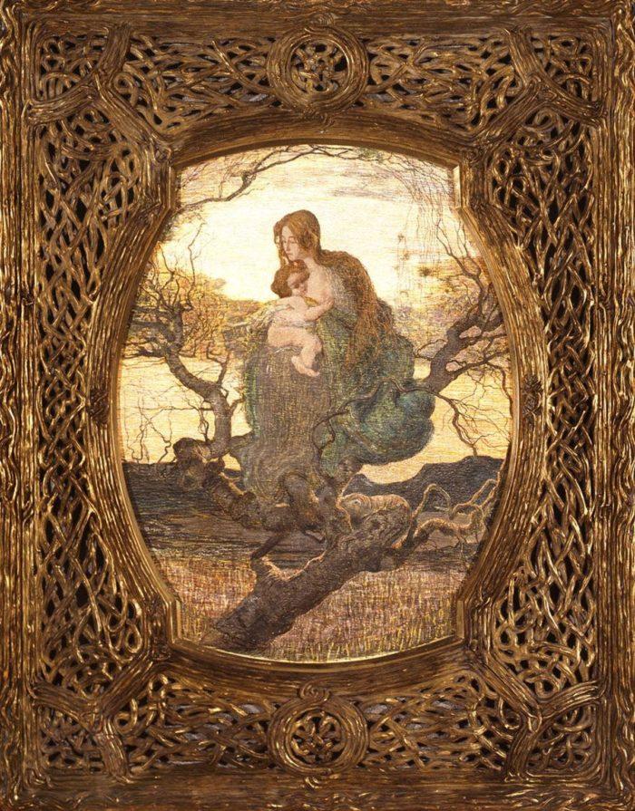 Giovanni Segantini: The Angel of Life, 1894