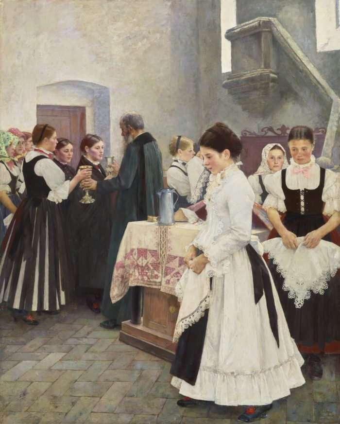 István Csók: Do This in Memory of Me, 1890