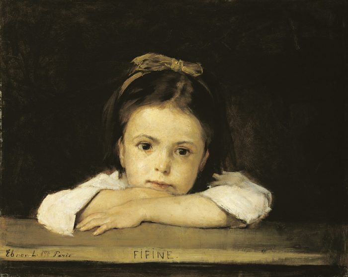 Lajos Deák Ébner: Fifine, 1875