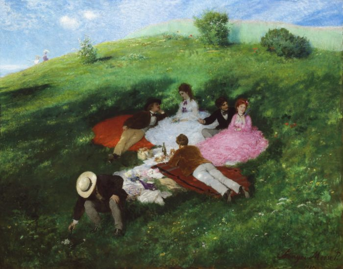 Pál Szinyei Merse: Picnic in May, 1873