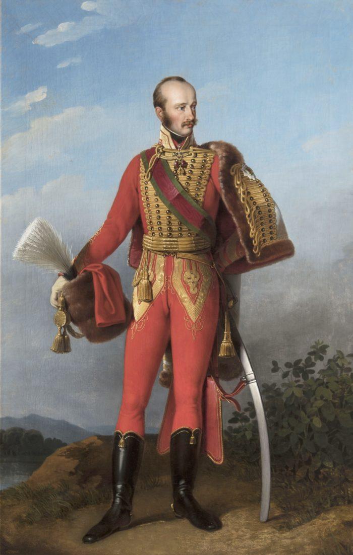Peter Krafft, Palatine Joseph in Hussar Uniform, 1820