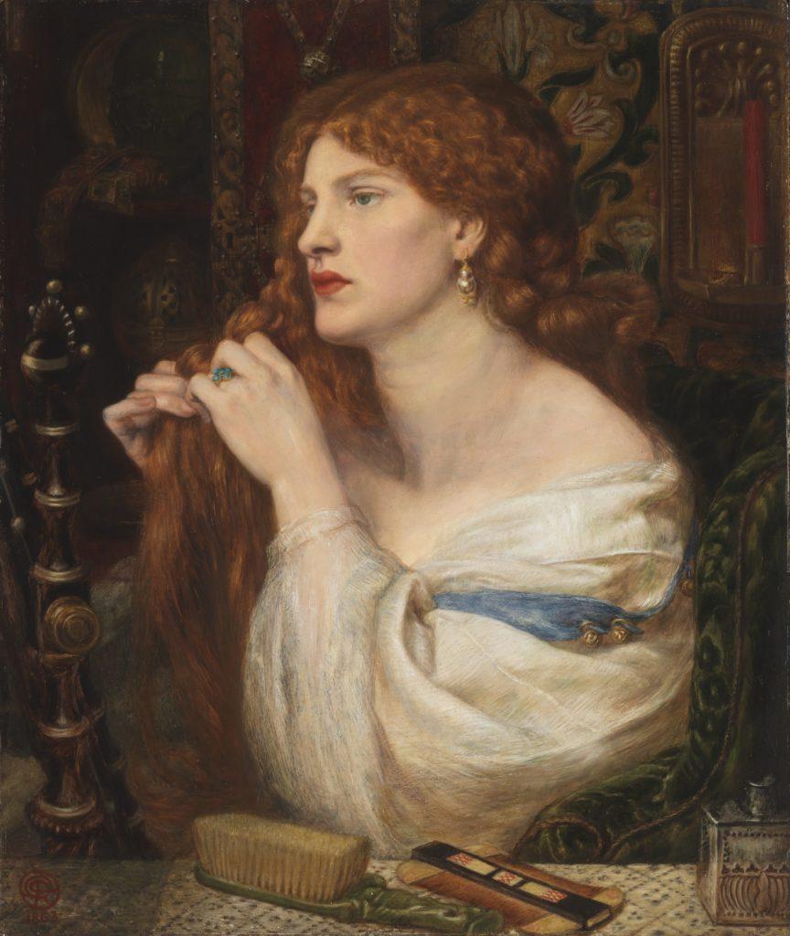 10_Dante Gabriel Rossetti, Fazio's Mistress, 1863-73