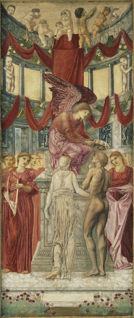 2_Sir Edward Coyle Burne-Jones, The Temple of Love