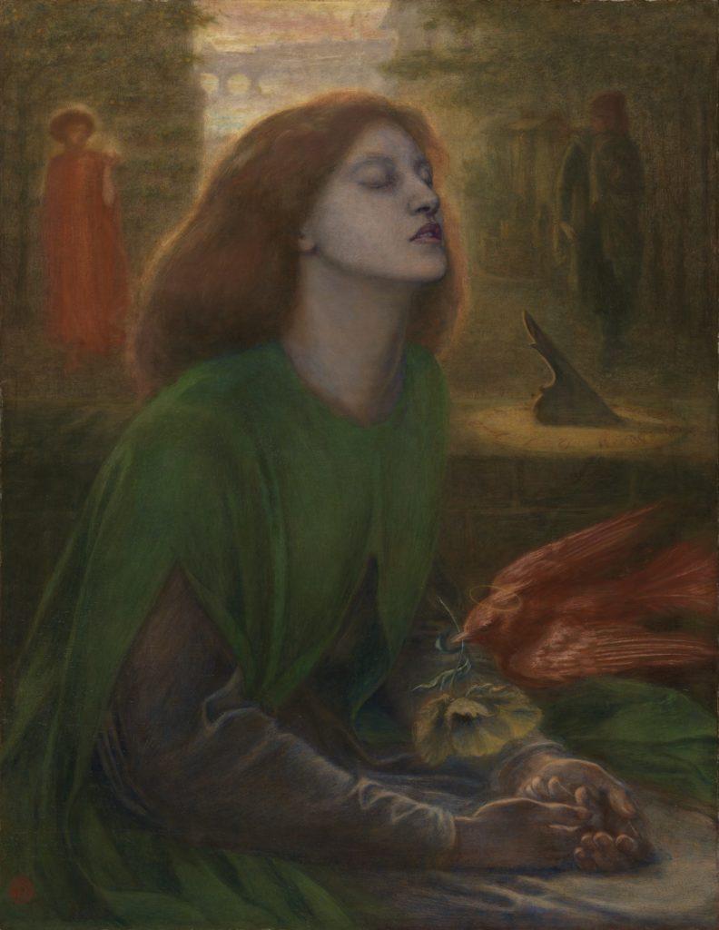 6_Dante Gabriel Rossetti, Beata Beatrix, 1864-70
