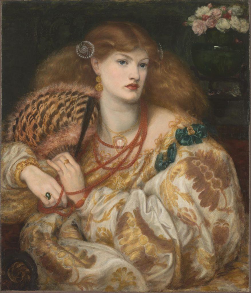 7_Dante Gabriel Rossetti, Monna Vanna, 1866