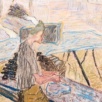 """… Half Picture, Half Veil …"" Works on Paper by Ilka Gedő (1921–1985)"